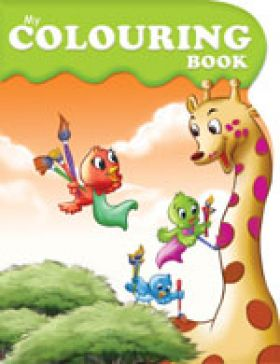 kids colouring book my colouring